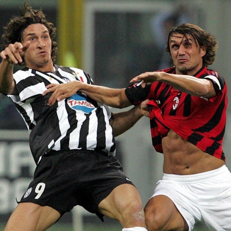 Maldini's Milan Match Shirt, Serie A 2005/06