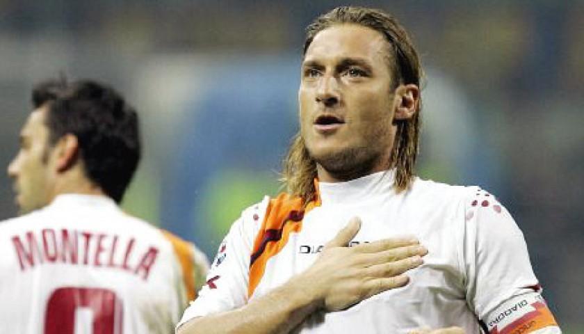 Totti's Roma Match Shirt, 2005/06