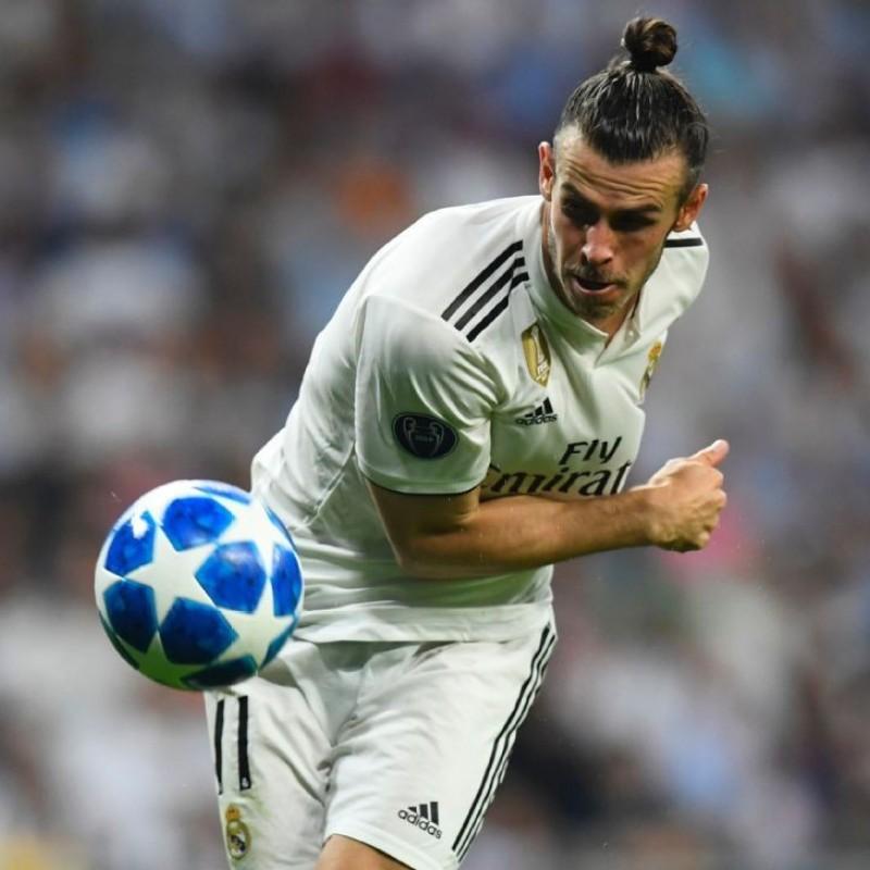 Bale's Real Madrid Match Shirt, UCL 2018/19