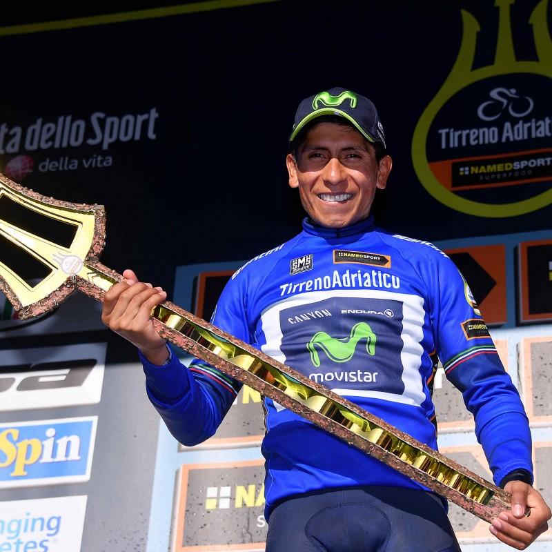 Quintana's 2017 Tirreno-Adriatico Race-Worn Shirt