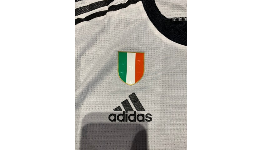 Dybala's Juventus Signed Match Shirt, Coppa Italia 2019/20