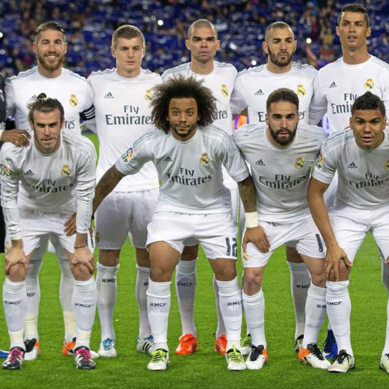 Real Madrid 2015/16 Signed Jersey