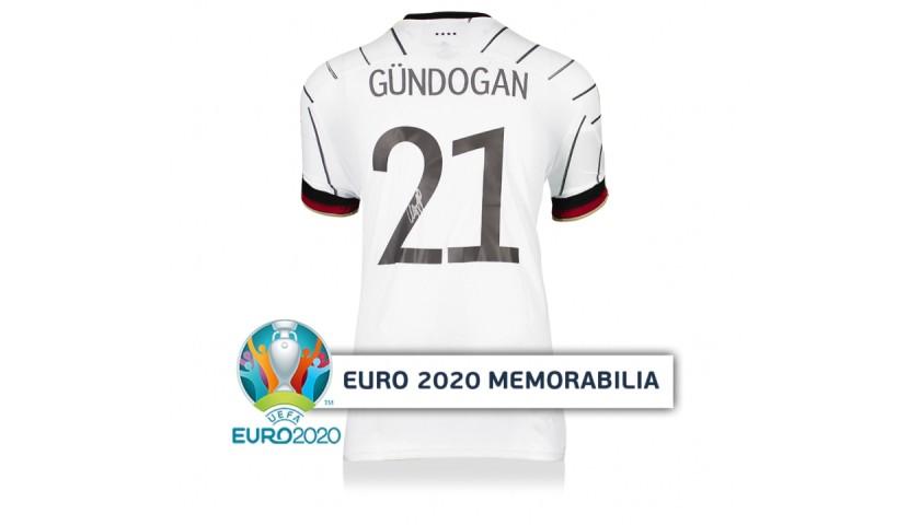 Gundogan's Germany Signed Shirt - Official UEFA EURO 2020 - CharityStars