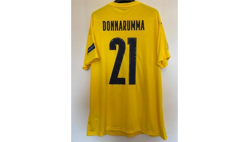 Donnarumma's Match Shirt, Bosnia-Italy 2020