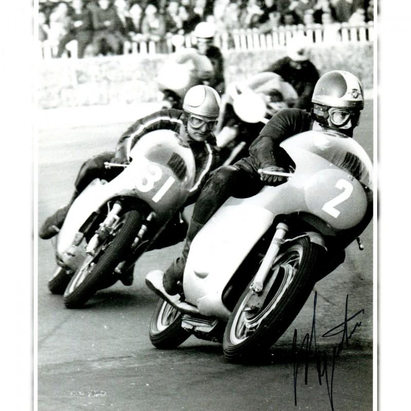 Photograph Signed by Giacomo Agostini