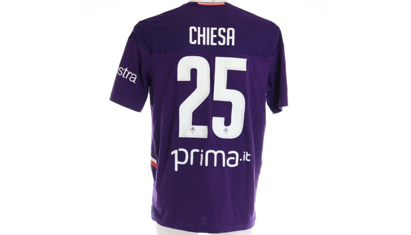 Chiesa's Match Shirt, Fiorentina-Lazio 2019