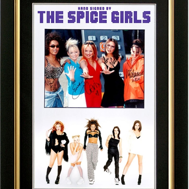 Rare Spice Girls Signed Presentation