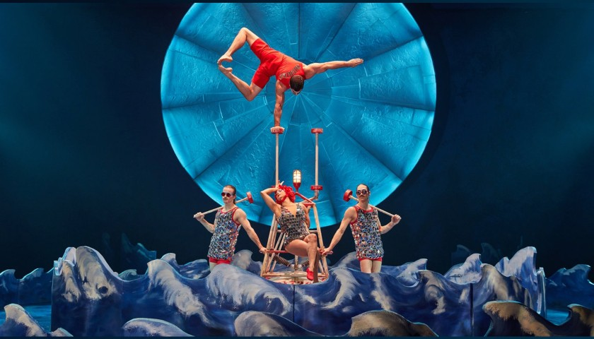 2 Tickets to Cirque Du Soleil's Luzia at the Royal Albert Hall