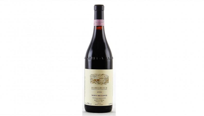 Rocca Albino Barbaresco Vigneto Brich Ronchi Magnum Wine Bottle