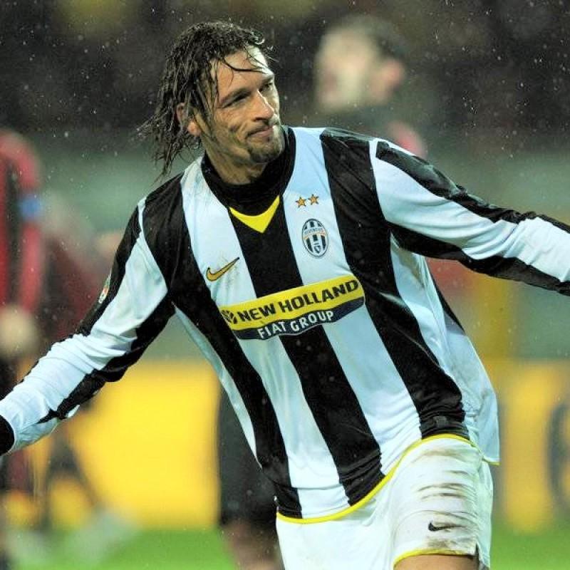 Amauri's Juventus Match Shirt, 2008/09