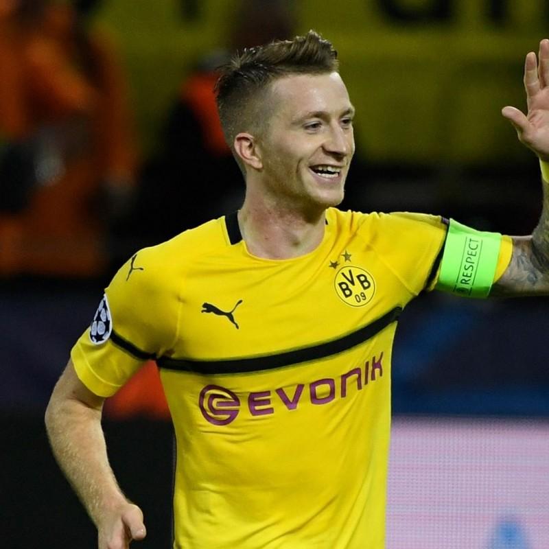 Reus' Match Shirt, Borussia Dortmund-Munich 2018 - CharityStars