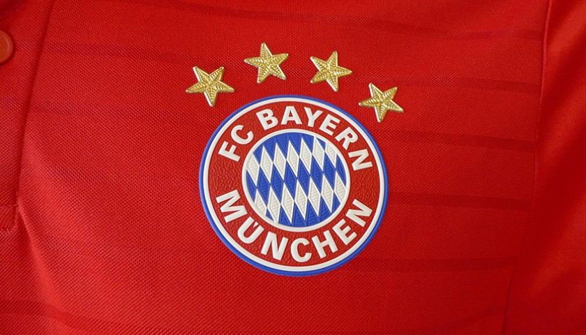 Xabi Alonso's Match-Issued/Worn Bayern Munich Shirt