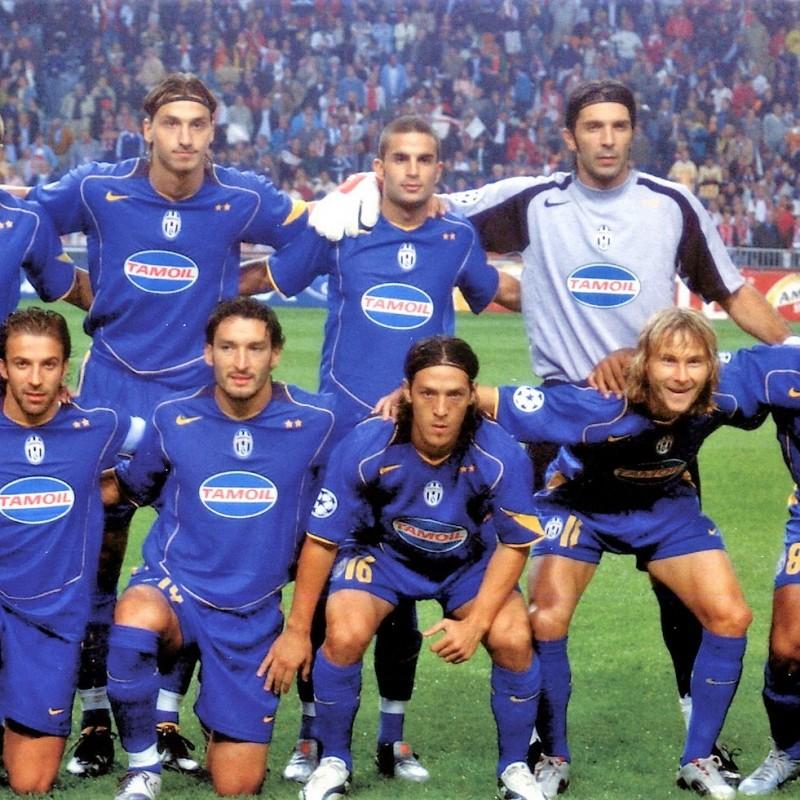 Tacchinardi's Juventus Match Shirt, Champions League 2004/05