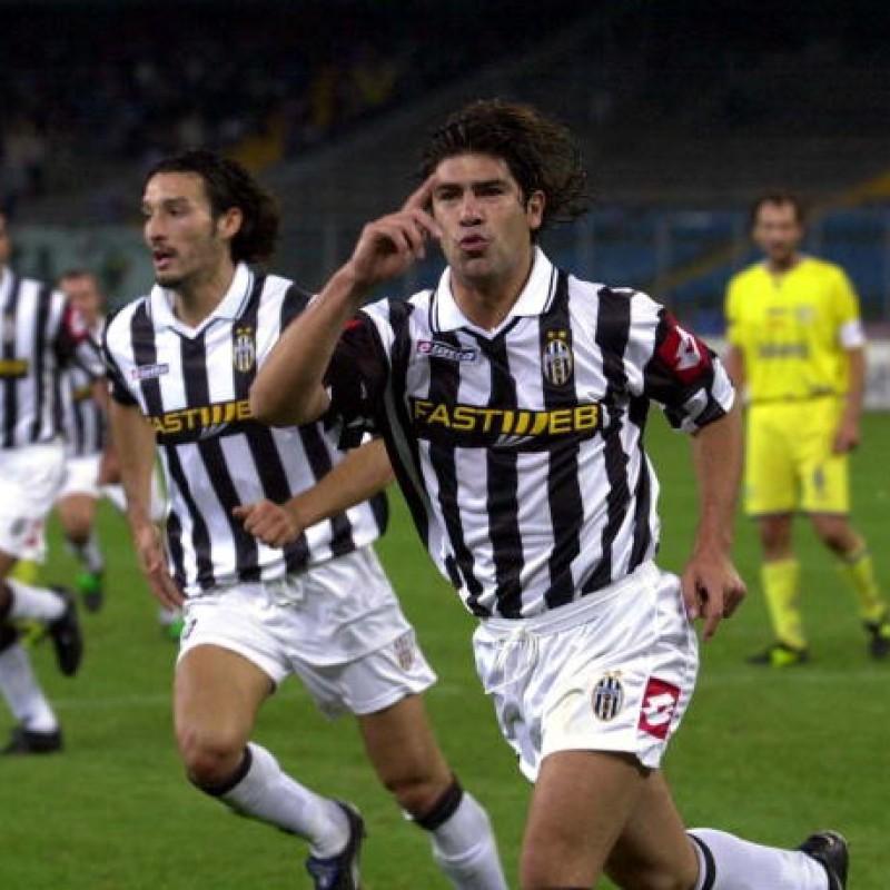 Salas' Juventus Match Shirt, TIM Cup 2001/02