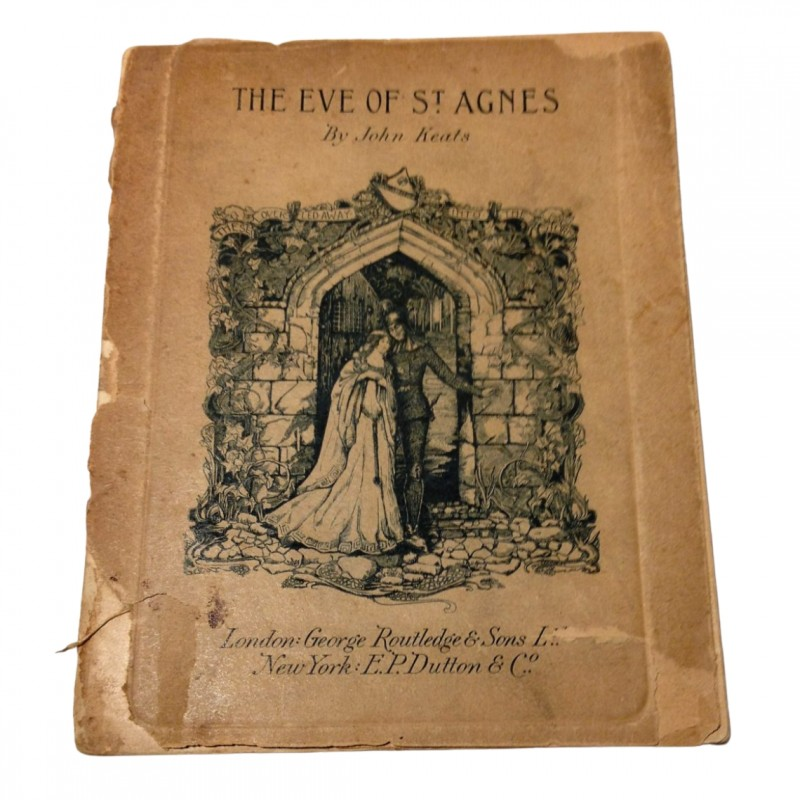 The Eve of St. Agnes – John Keats (libretto 1900/1906 circa)