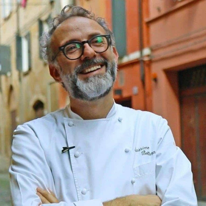 Spend a Day with Chef Bottura and Enjoy Dinner at Francescana at Maria Luigia in Italy