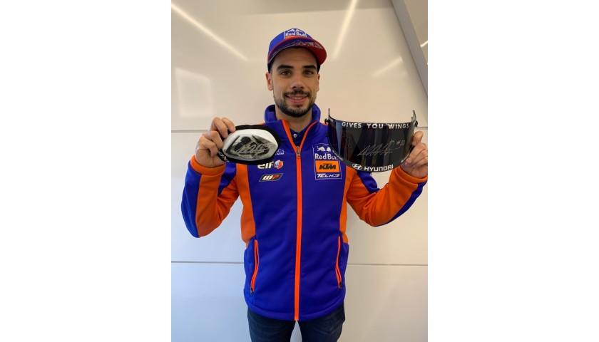 Signed Miguel Oliveira Slider & Visor from MotoGP 2020