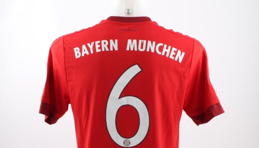 brand new 728d7 bd37a Alcantara Bayern Munchen shirt, issued/worn 15/16 DFB-Pokal Cup -  CharityStars