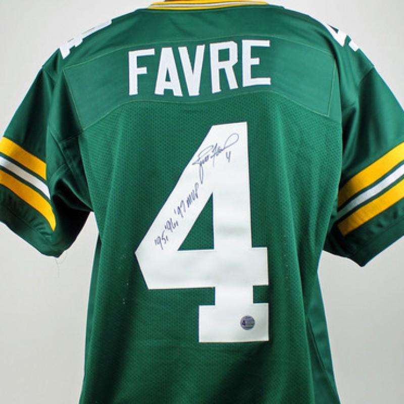 Brett Favre Hand Signed Green Bay Packers Jersey