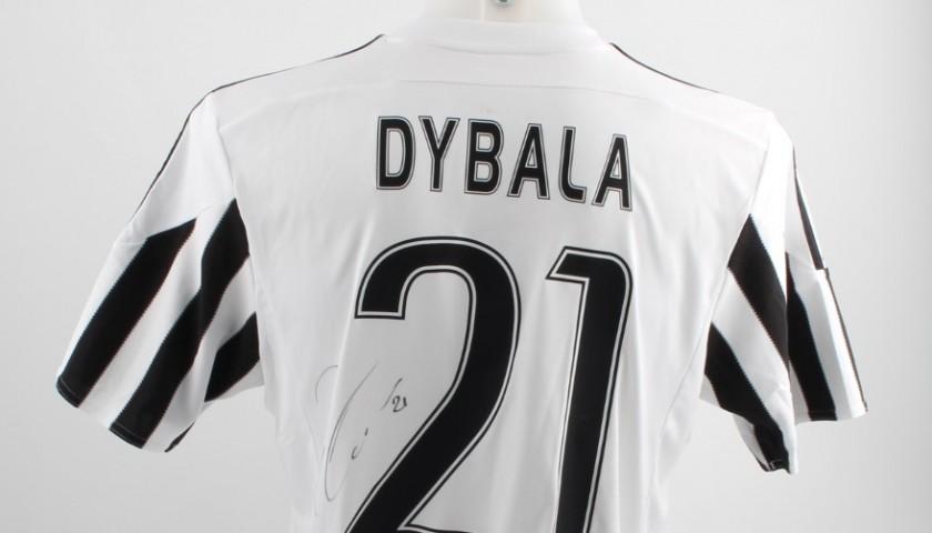 wholesale dealer 16047 a6953 Official Dybala Juventus shirt, 2015/2016 season - signed - CharityStars