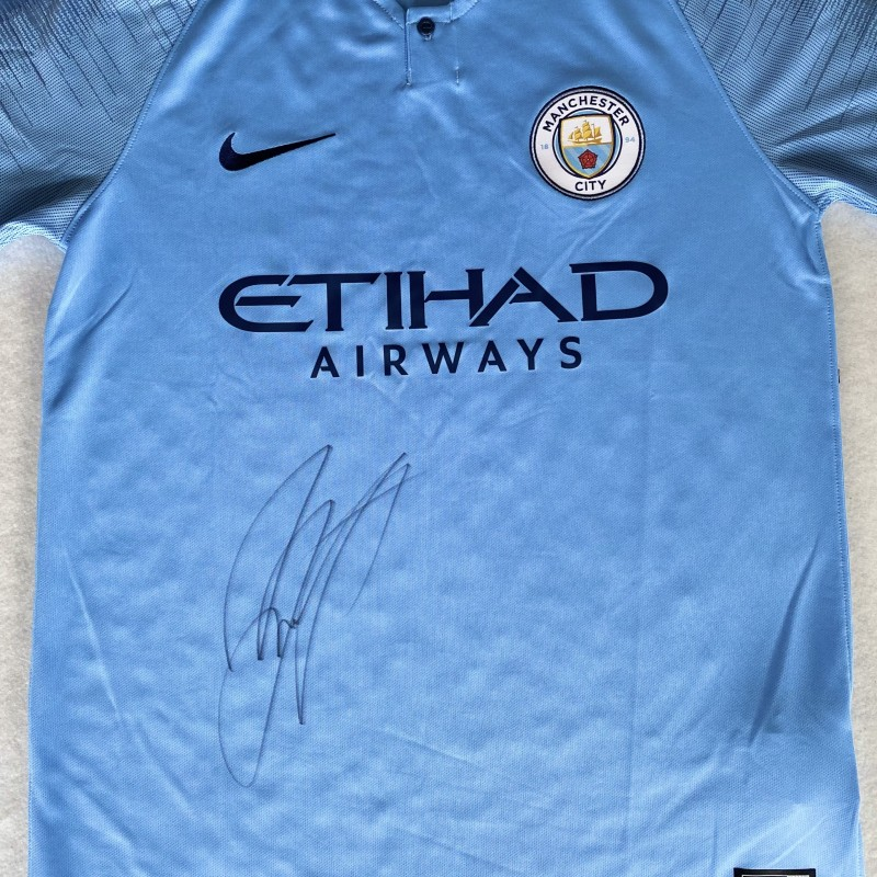 Zinchenko's Manchester City Signed Shirt