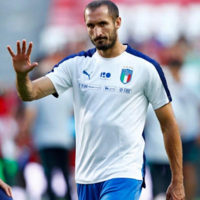 Chiellini's Match Shorts, Portugal-Italy 2018