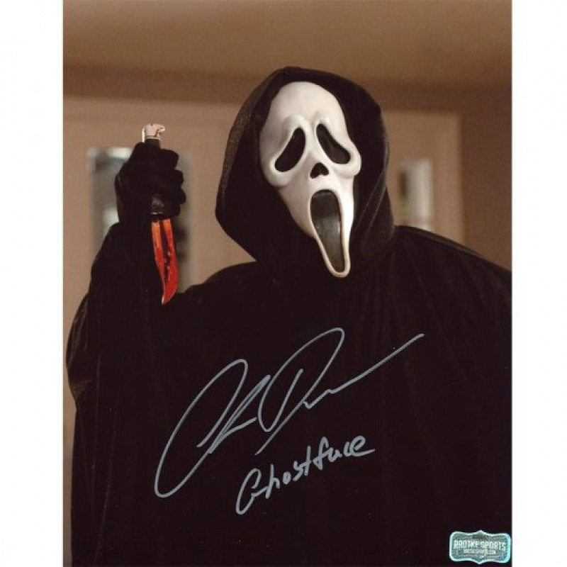 Chris Durand Signed Scream Photo