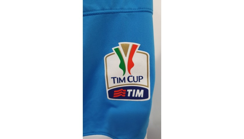 Hamsik's Napoli Worn and Signed Shirt, TIM Cup 2015/16