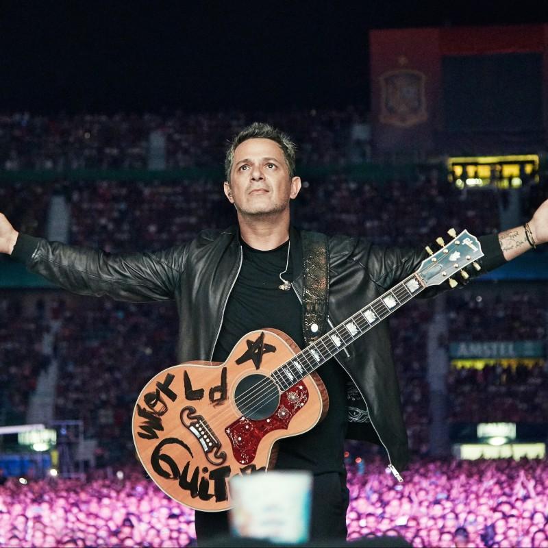 Occupa i posti VIP di Alejandro Sanz allo show di Houston, Texas