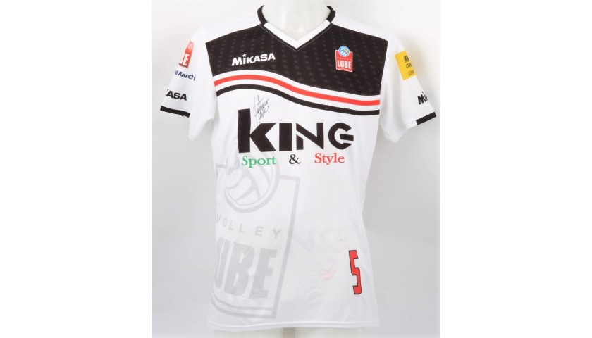 Osmany Juantorena's Lube Volley Signed Training Jersey, 2017/18