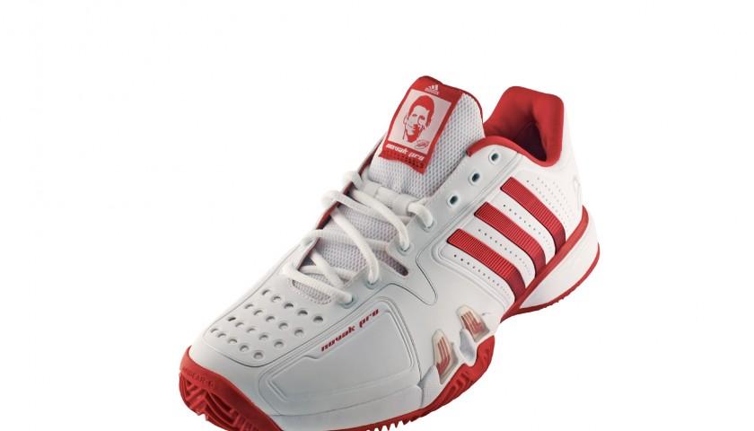 Novak Djokovic's Roland Garros shoes
