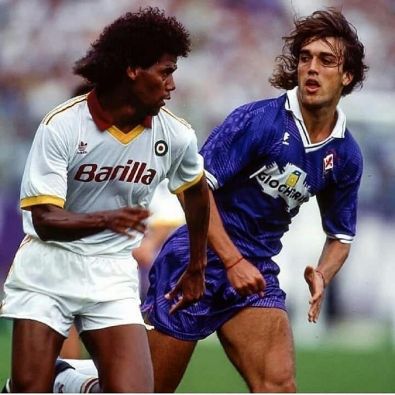 Aldair's Roma Match Shirt, 1991/92