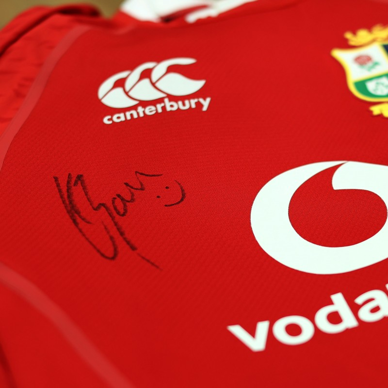 Lions 2021 Test Shirt Worn and Signed by Louis Rees-Zammit