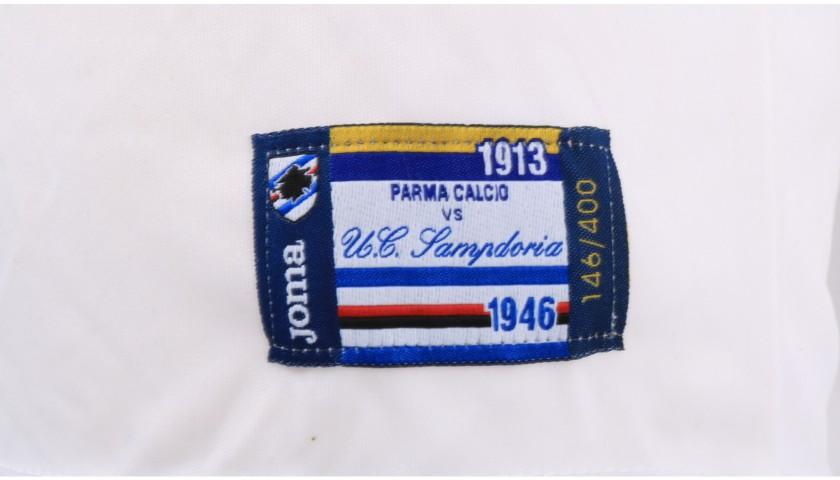 Colley's Worn Shirt, Parma-Sampdoria - #Blucrociati