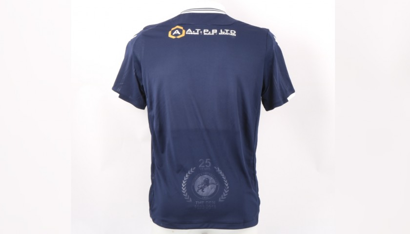 Millwall Official Poppy Shirt Signed by the Team