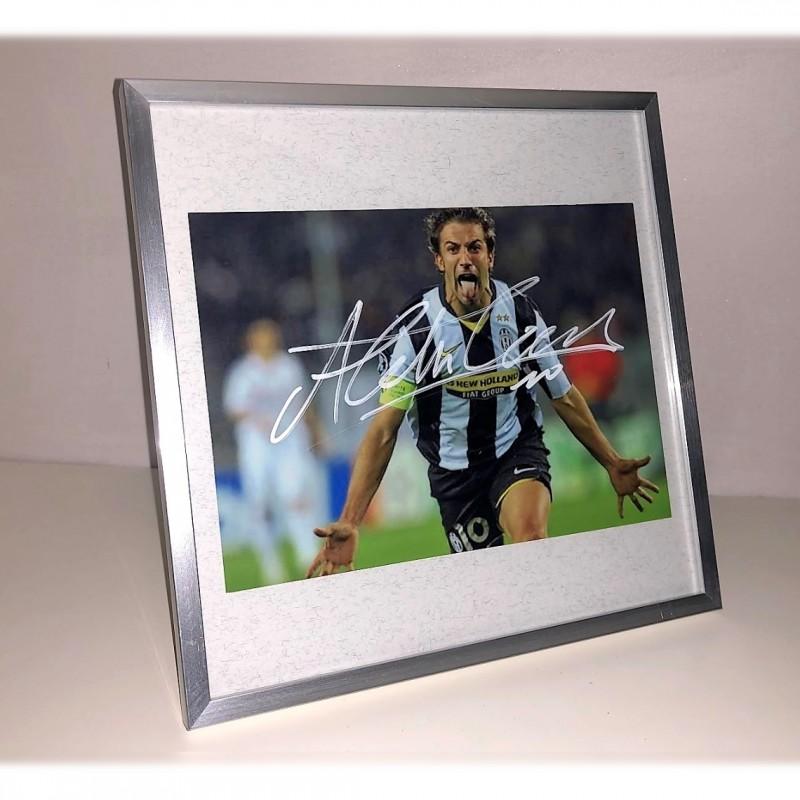 Alex Del Piero Signed Photograph