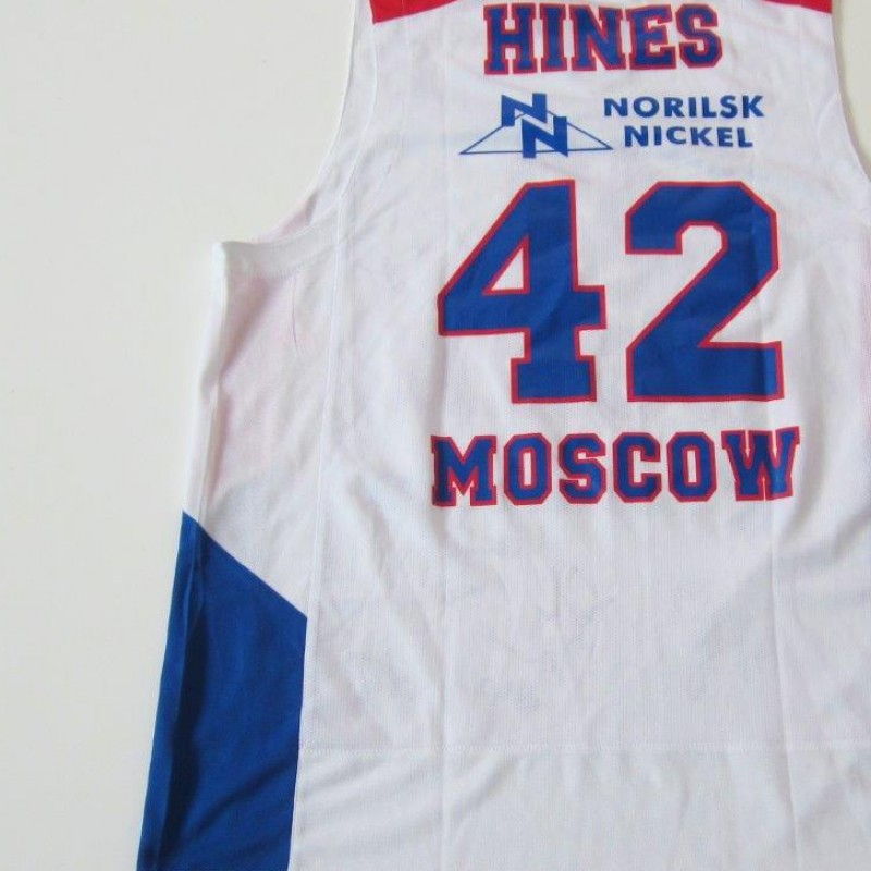 Kyle Hines CSKA MOSCOW shirt - signed by the team