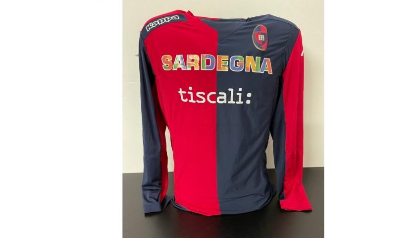 Cagliari Primavera Match Shirt, 2014/15