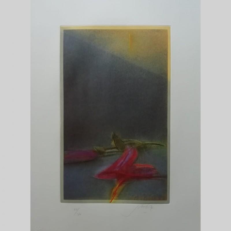 """""""L'ombra dell'ibisco"""" di Piero Guccione"""
