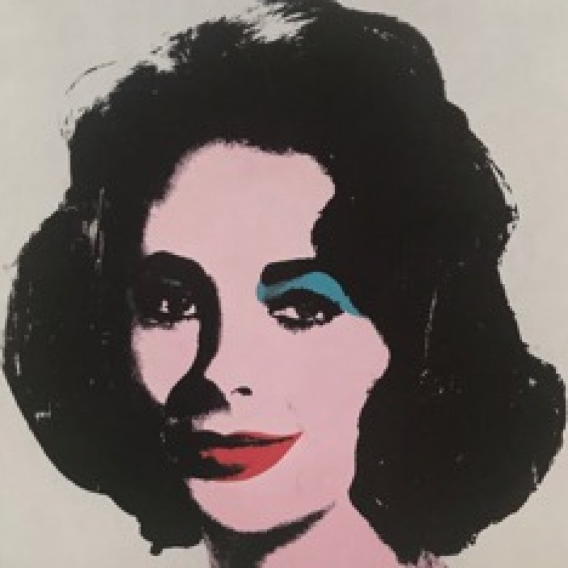 """Liz Taylor"" by Andy Warhol"