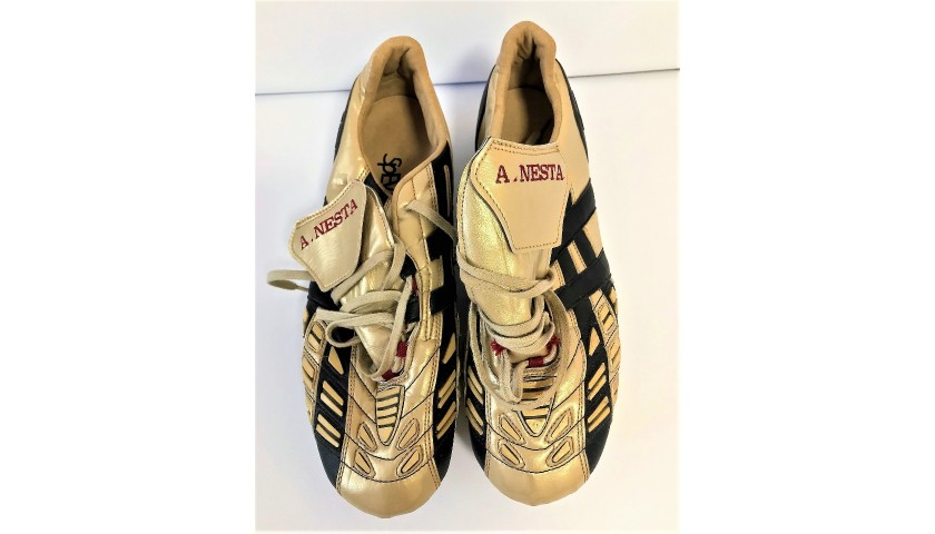 Asics Football Boots Worn by Alessandro Nesta