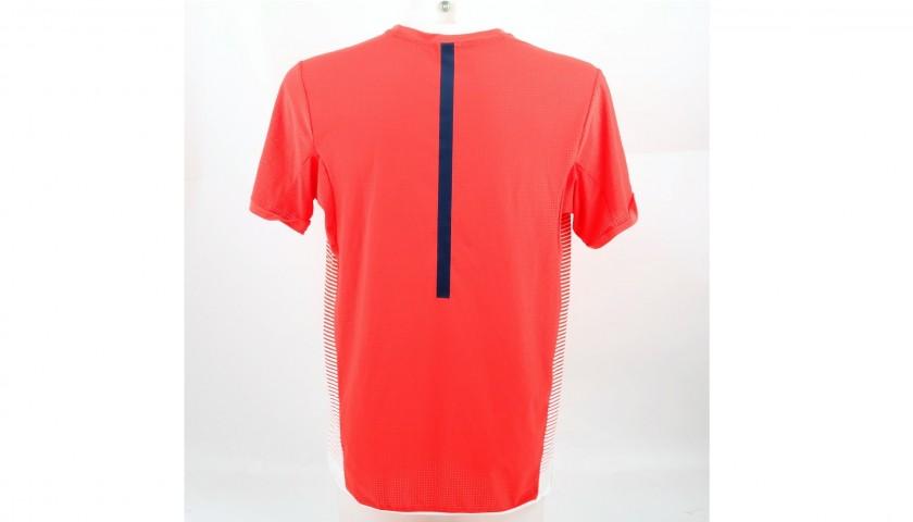 Rafael Nadal's Signed Worn Shirt