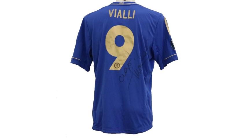 Vialli's Official Chelsea Signed Shirt, 2012/13