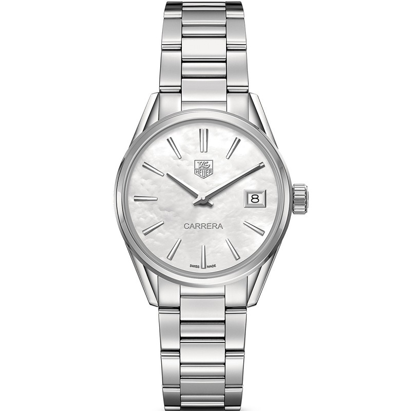 Tag Heuer Ladies Carrera Watch with Mother of Pearl & Diamonds