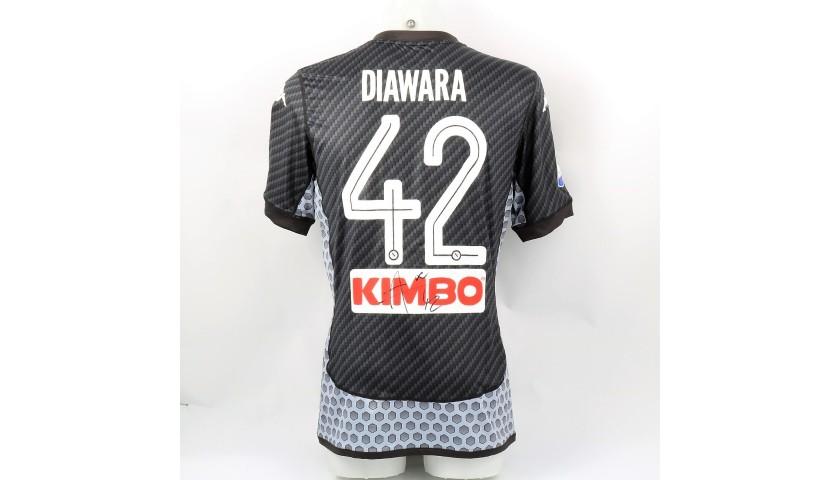 Diawara's Napoli Match-Issue Signed Shirt, 2017/18