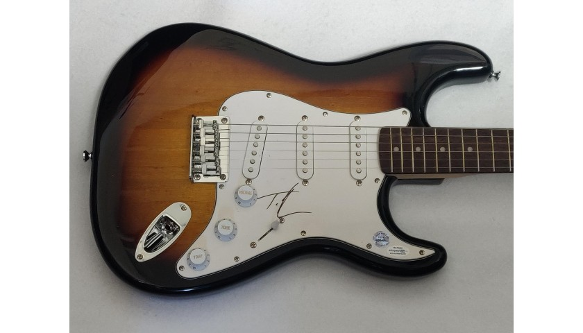 Tim McGraw Autographed Fender Electric Guitar