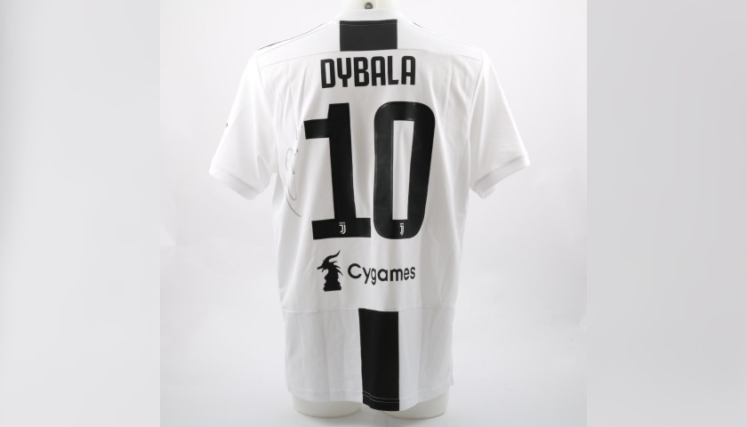 new product 1da00 c0ab0 Dybala's Official 2018/19 Juventus Signed Shirt - CharityStars