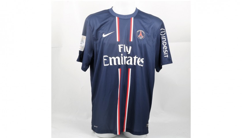 buy popular 936fc 3e616 Official 2012/13 PSG Shirt Signed Ibrahimovic - CharityStars