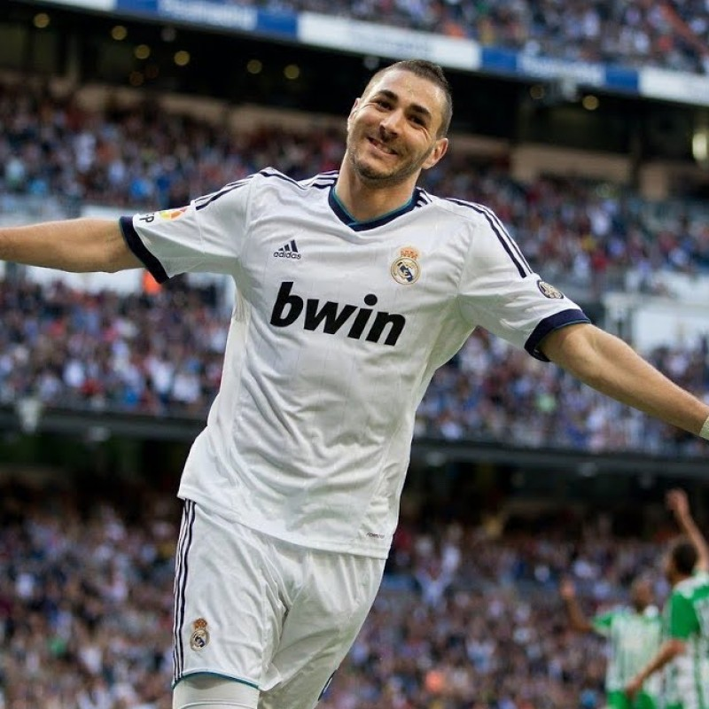 Benzema's Official Real Madrid Signed Shirt, 2012/13