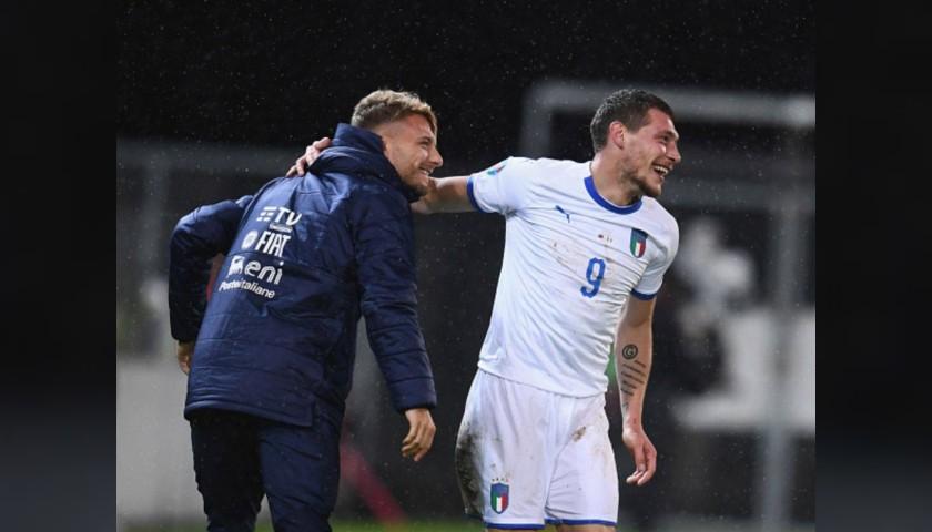 Immobile's Match Shorts, Liechtenstein-Italy 2019